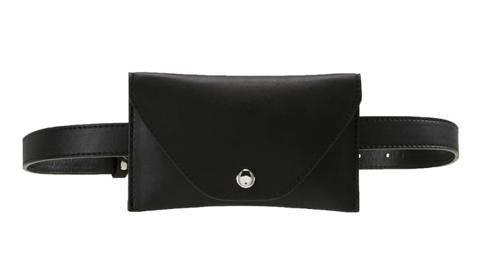 Pieces Dámská ledvinka Cindy Belt Bag Black