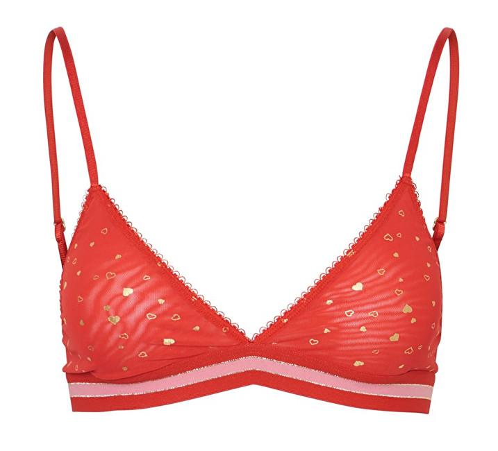 Pieces Sutien pentru femei Iw Bra Aura Orange XS