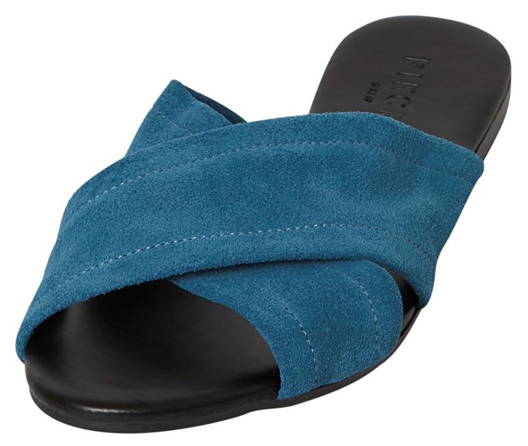 Pieces Papuci de damăMarnie Suede Sandal Seaport 40