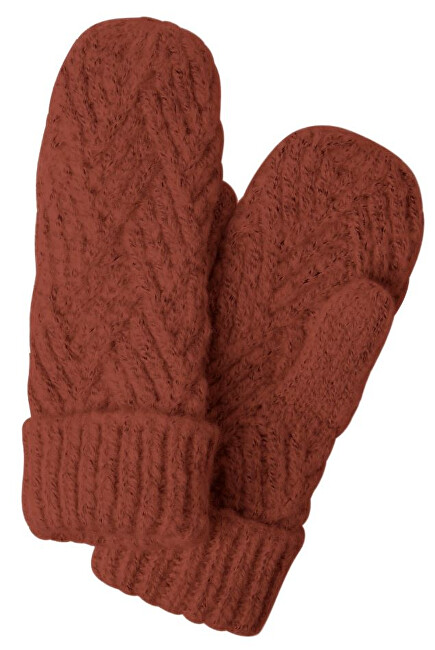 Pieces Dámské rukavice PCHAILIE MITTENS Picante