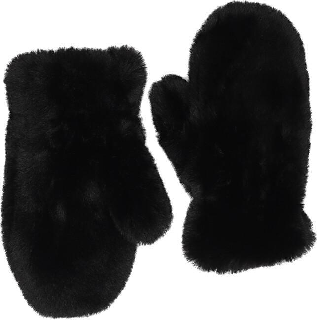 Pieces Mănuși pentru femei PCHARDY MITTENS Black