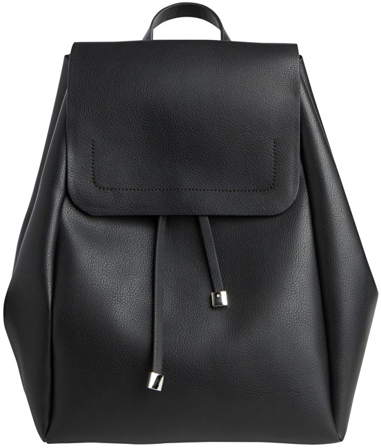 Pieces Dámsky batoh Flora Backpack Black