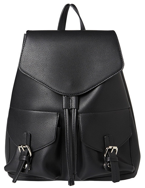 Pieces Dámsky batoh Tyler Backpack Black