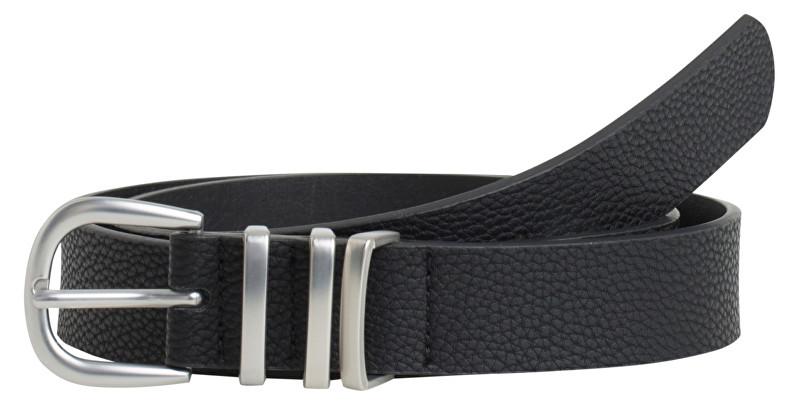 Pieces Curea Lea Jeans Belt Noos Black W/Silver 90 cm