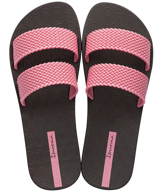 e2d1144d6d60d Ipanema Dámské pantofle City Fem 26223-21312 Brown/Pink 38