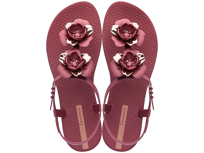 Ipanema Sandale pentru femei Flora l Sandal Fem 82662-24753 Burgundy / Rose 40