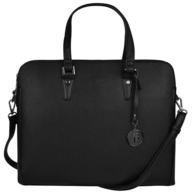 JustBag Dámská kabelka na notebook 3756 Black