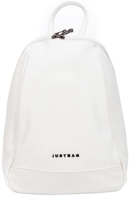 JustBag Dámský batoh 3403 White