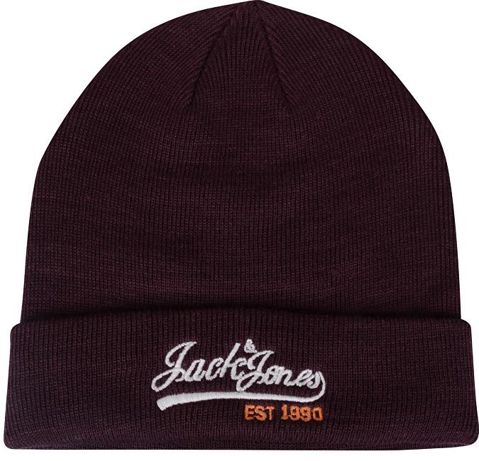 Jack&Jones Căciulă pentru bărbați Logo Knit Beanie Port Royale