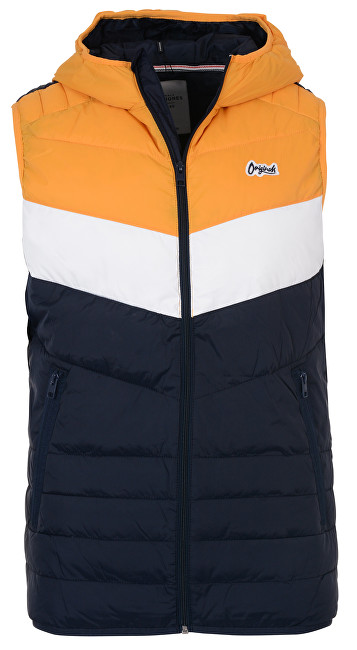 Jack&Jones Pánská vesta Jorbend Light Bodywarmer Sunflower Blocking L