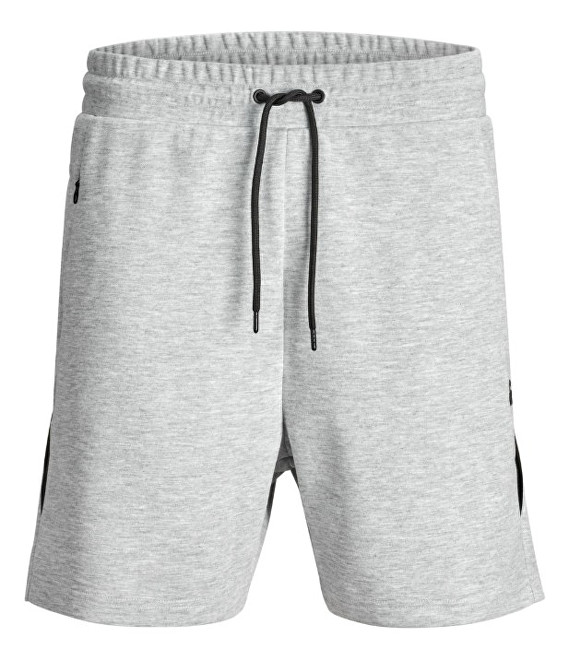 Jack&Jones Pánske kraťasy Clean Sweat Light Grey S