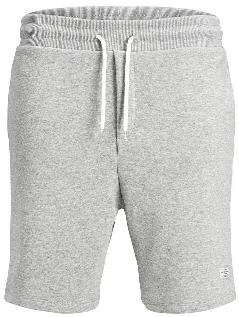 Jack&Jones Pánske kraťasy Jorhouston Sweat Shorts Noos Light Grey Melange S