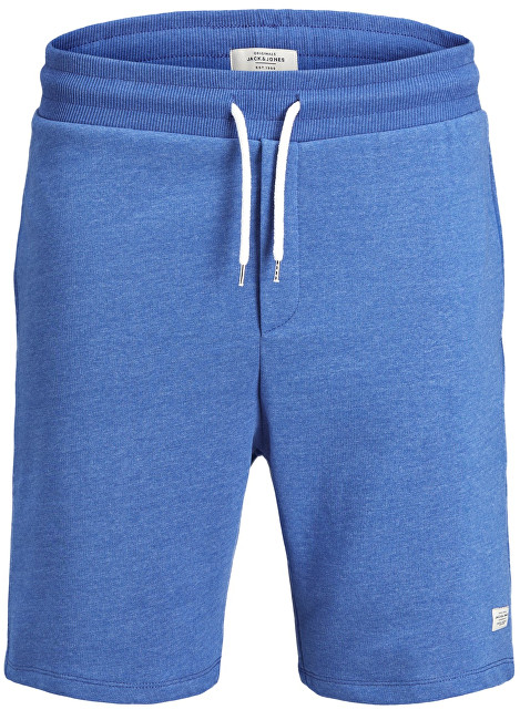 Jack&Jones Pánske kraťasy Jorhouston Sweat Shorts Noos Nautical Blue S