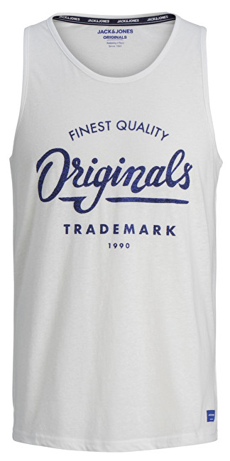 Jack&Jones Pánske tielko Jorquinn Tank Top Cloud Dancer S