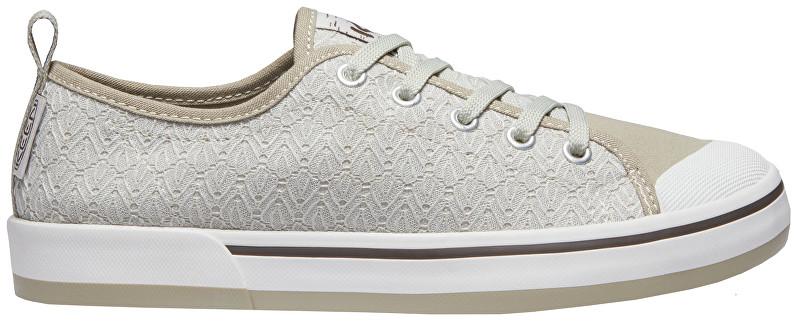 KEEN Dámské obuv Elsa II Sneaker Crochet Silver Birch/Canteen 40