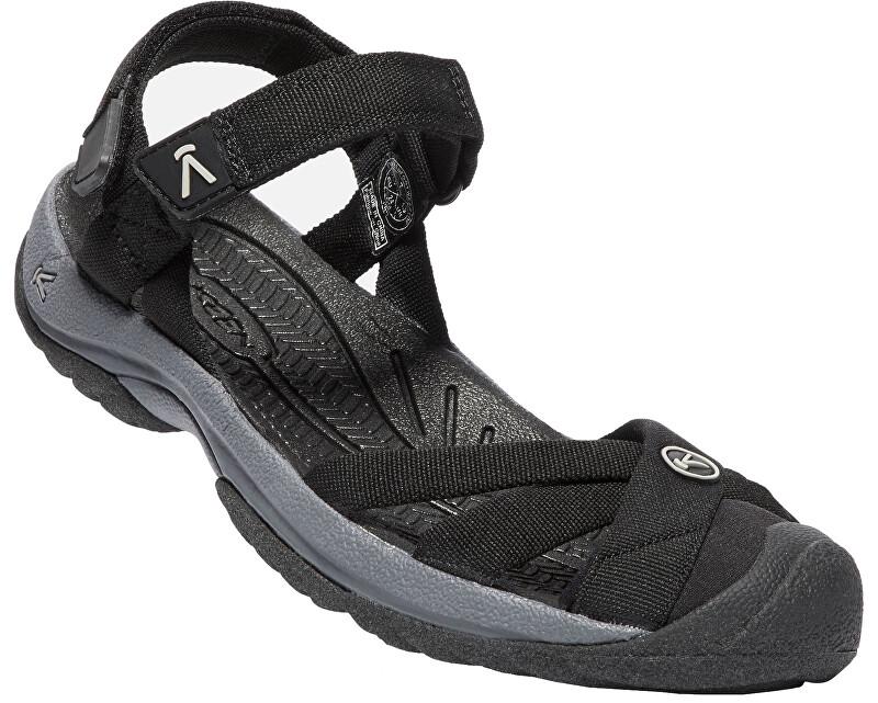 KEEN Dámské sandále Waterfront Women Bali Strap Black/Steel Grey 40