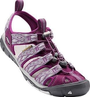 KEEN Dámske sandále Clearwater CNX Dark Purple/Purple Sage 37