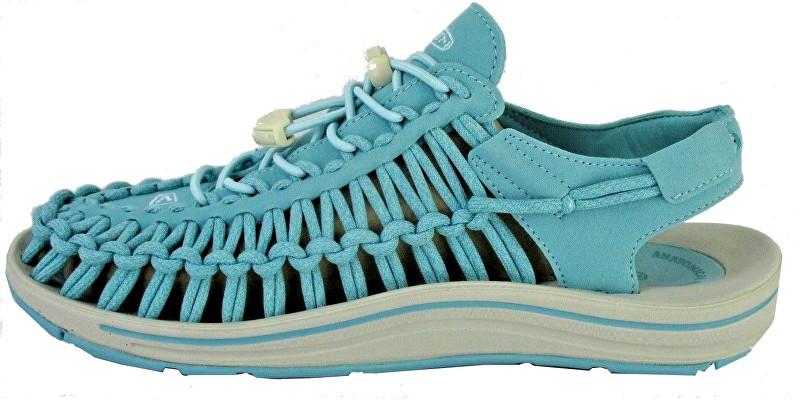 KEEN Dámske sandále Uneek Aqua Sea / Pastel Turquoise 38