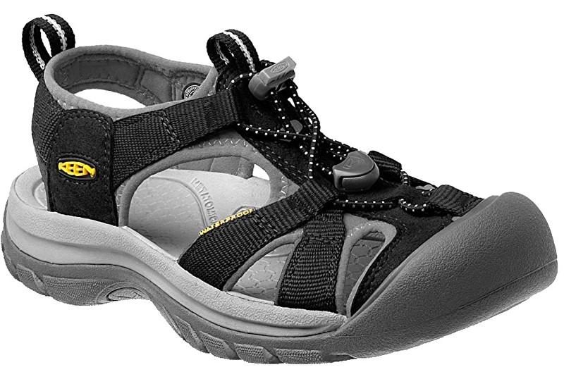 KEEN Dámske sandále Venice H2 W Black/Neutral gray 38