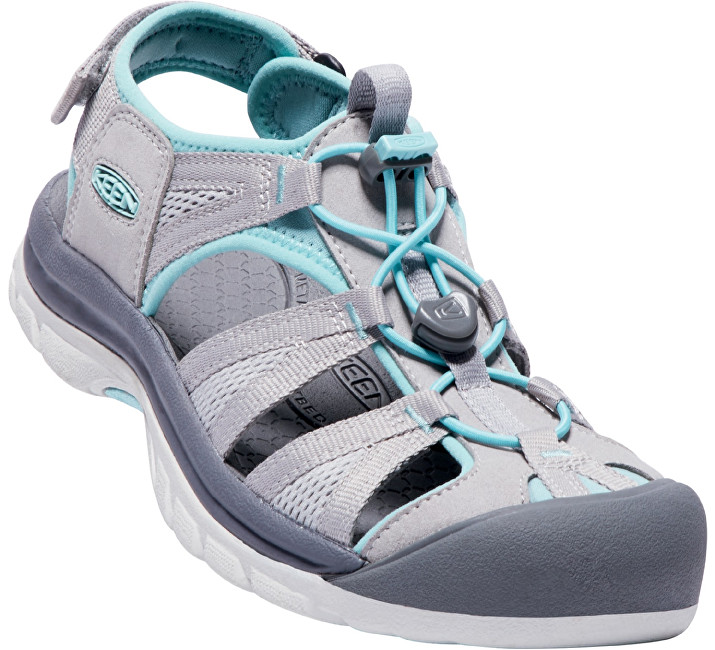 KEEN Ladies Waterfront Femei Venice II H2 Paloma/Pastel Turquoise 37