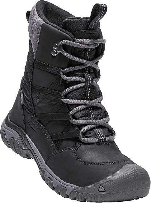 KEEN Dámske zimné topánky Hoodoo III Lace Up Black/Magnet 39,5