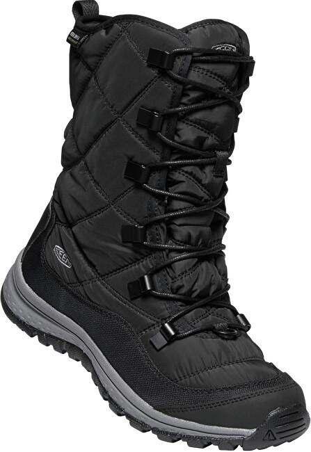 KEEN Dámske snehule Terradora Lace Boot Wp Black/Steel Grey 40
