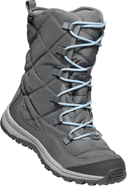 KEEN Dámske snehule Terradora Lace Boot Wp Steel Grey/Forget Me Not 41