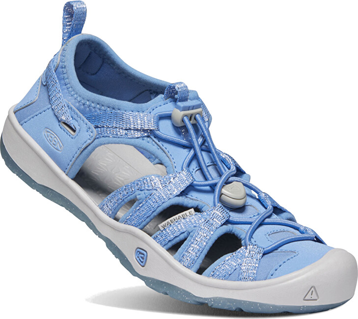 KEEN Detské sandále MOXIE SANDAL JUNIOR 1022888 della blue / vapor 37 AKCE