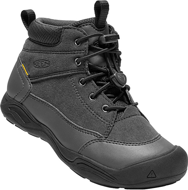 KEEN Junior boty Jasper Mid Wp black/raven 37