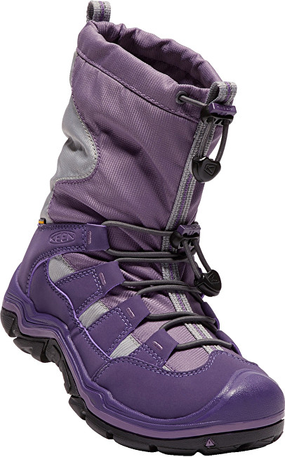 KEEN Junior topánky Winter port II Wp purple plumeria-alloy 36
