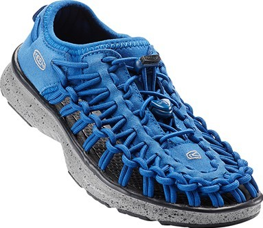 KEEN Junior sandále Uneek 02 True Blue-Neutral Grey 32-33