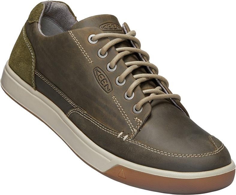 KEEN Pánské boty Glenhaven Sneaker Canteen/Dark Olive 42
