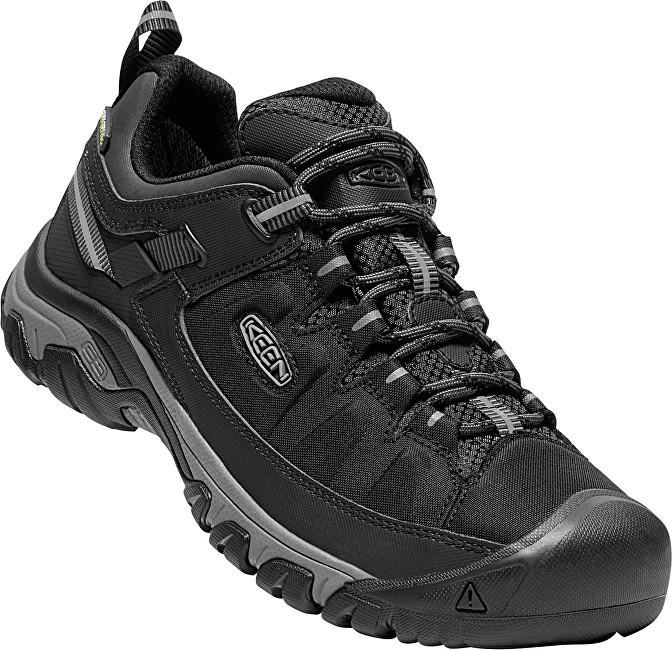 KEEN Pantofi de trekking pentru bărbați Targhee EXP WP Black / Steel Grey 45