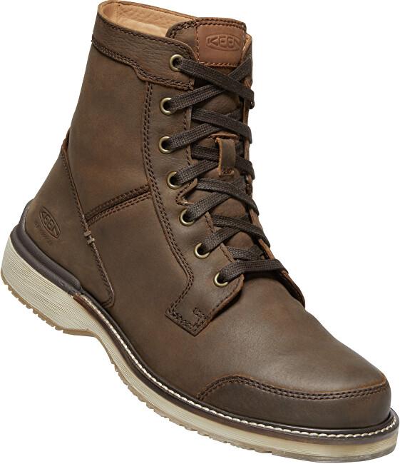 KEEN Pánske členkové topánky Eastin Boot M Veg Brown 43