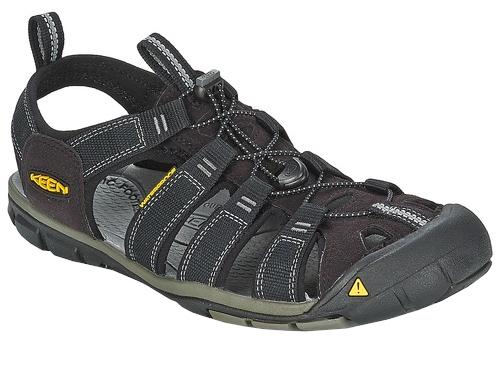 05d5272a2997 KEEN Pánske sandále Clearwater CNX 1008660 Black-Gargoyle 41