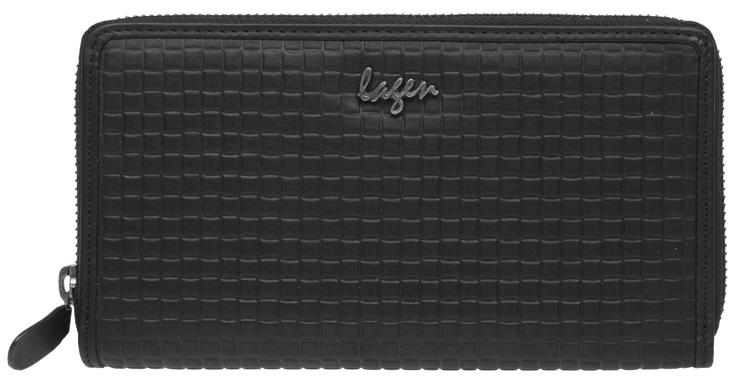 Lagen Dámská černá kožená peněženka Black LG-1786