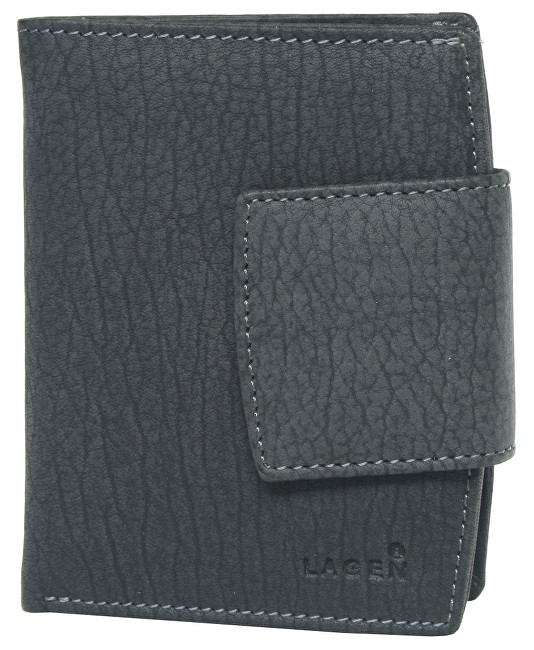 Lagen Dámská kožená peněženka LM-3994/W BLK