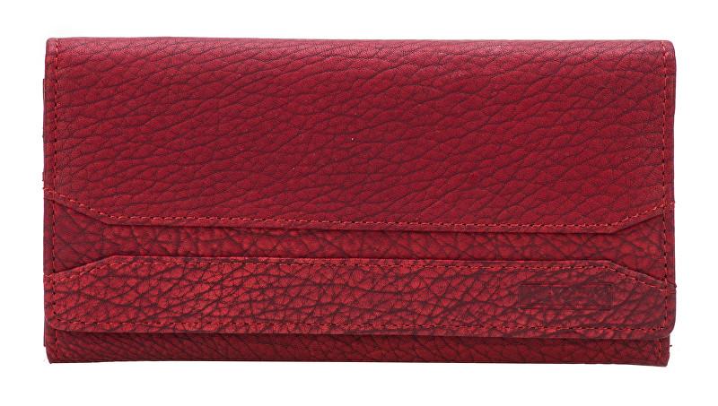 Lagen Dámská červená kožená peněženka Red W-2025/W-3
