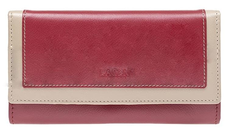Lagen Dámska kožená peňaženka 1841 RED