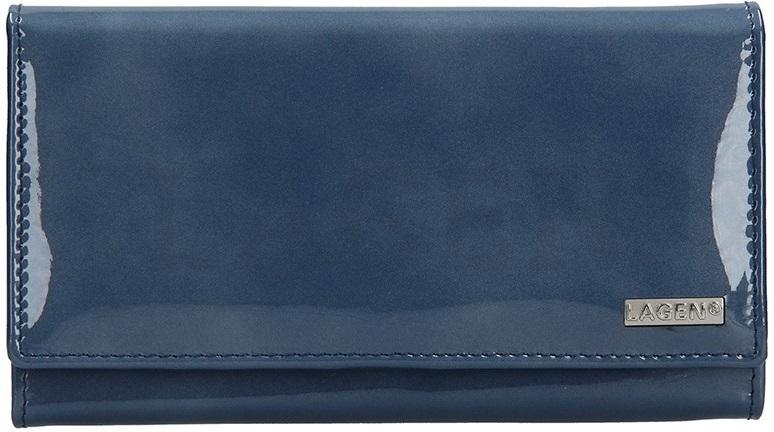 Lagen Dámska kožená peňaženka 50042 Blue