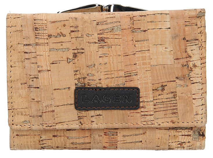 Lagen Dámska kožená peňaženka 50178 Tan