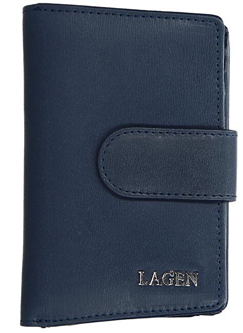 Lagen Dámska kožená peňaženka 50313 D. Blue