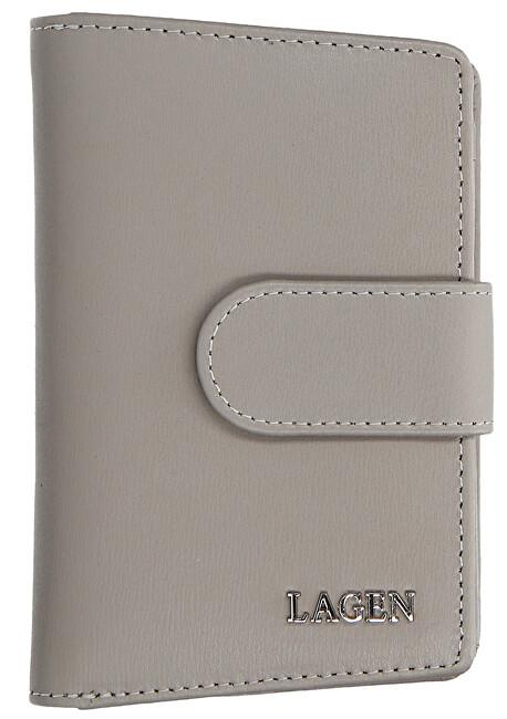Lagen Dámska kožená peňaženka 50313 Grey