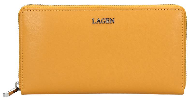 Lagen Dámska kožená peňaženka 50353 Golden Nugget