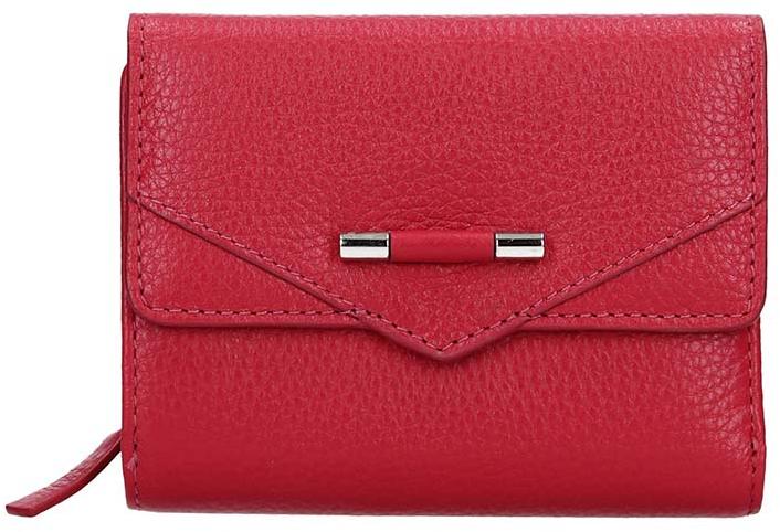 Lagen Dámska kožená peňaženka 51623 Raspberry