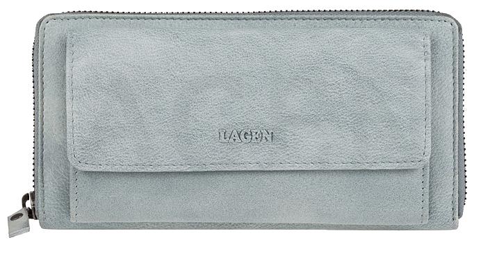 Lagen Dámska kožená peňaženka 786-017 Ocean Blue