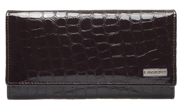 Lagen Dámská kožená peněženka V-102/2 BRN