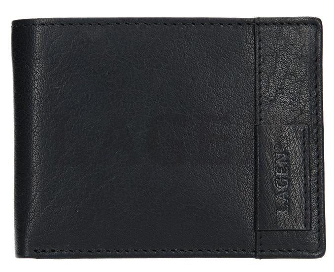 Lagen Kožená pánska peňaženka 9113 Black