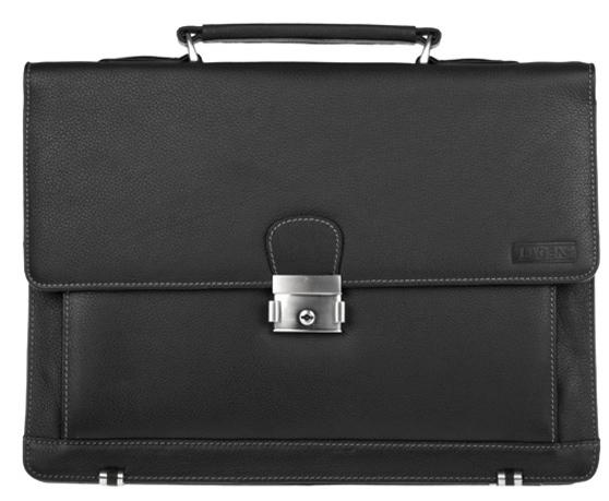 Lagen kožená taška Black 2079 / T