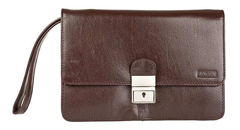 Lagen Kožená taška Brown E-2016